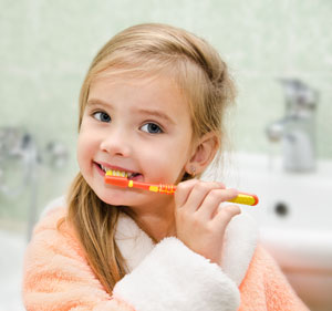 Brushing Teeth - Pediatric Dentist in Columbus, GA