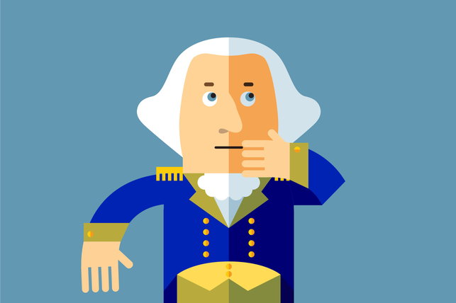 blushGW - Have you Heard The Truth about George Washington's Teeth?